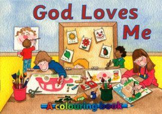 A Colouring BookGod Loves Me