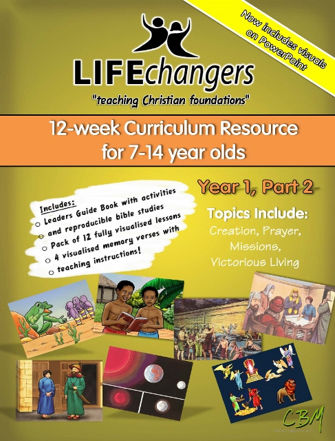 Year 1 Part 2Life Changers