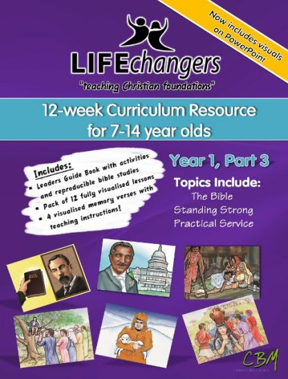 Year 1 Part 3Life Changers