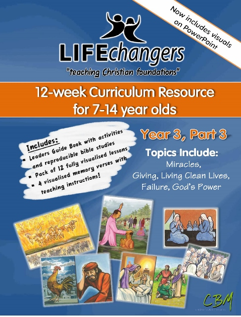 Year 3 Part 3Life Changers