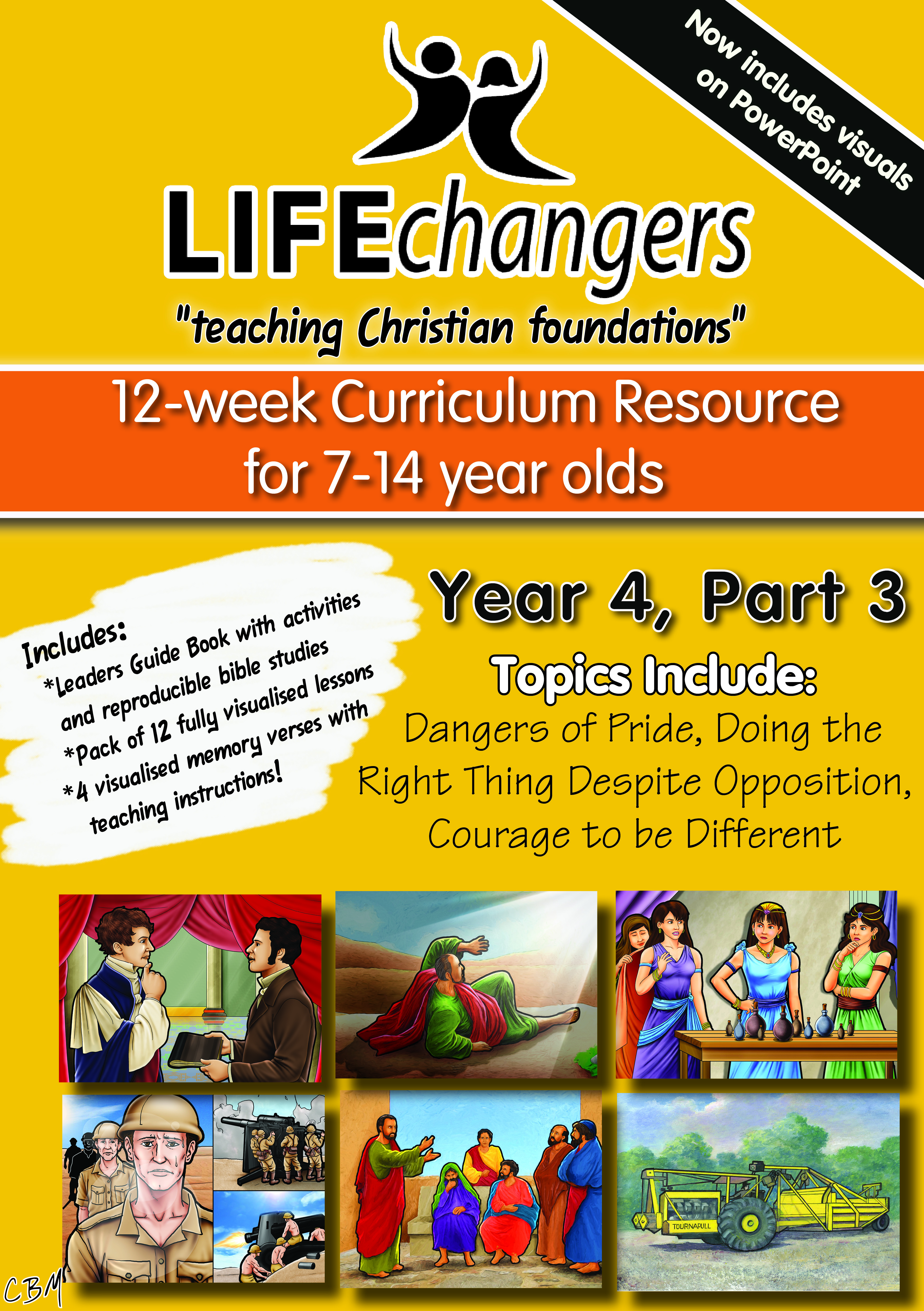 Year 4 Part 3Life Changers